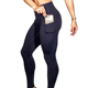 Amazon Hot Sell Woman Sports Spandex Yoga Pant Leggings Wholesale High Waisted Workout Leggings with Pocket