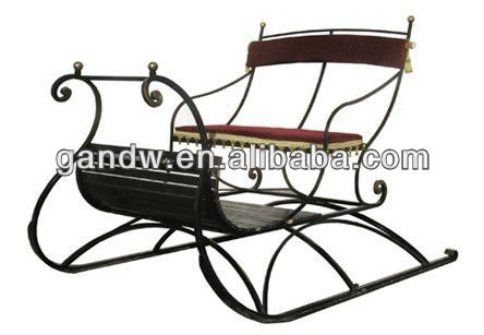 Sporting sleigh horse cart for two 2 persons