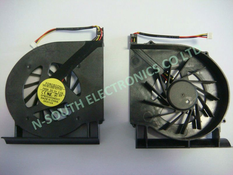 fan for HP G71 forcecon DFB552005M30T DC5V 0.5A laptop cpu cooling fan