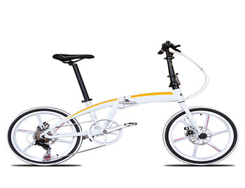 20/22 inch folding bicycle ultra light carrying speed change