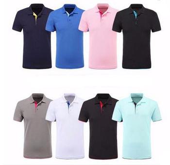 45854bf9e859a Uniformes escolares al por mayor polo de algodón bordado spandex mens  Camisetas Mujer Oficina uniforme estilo