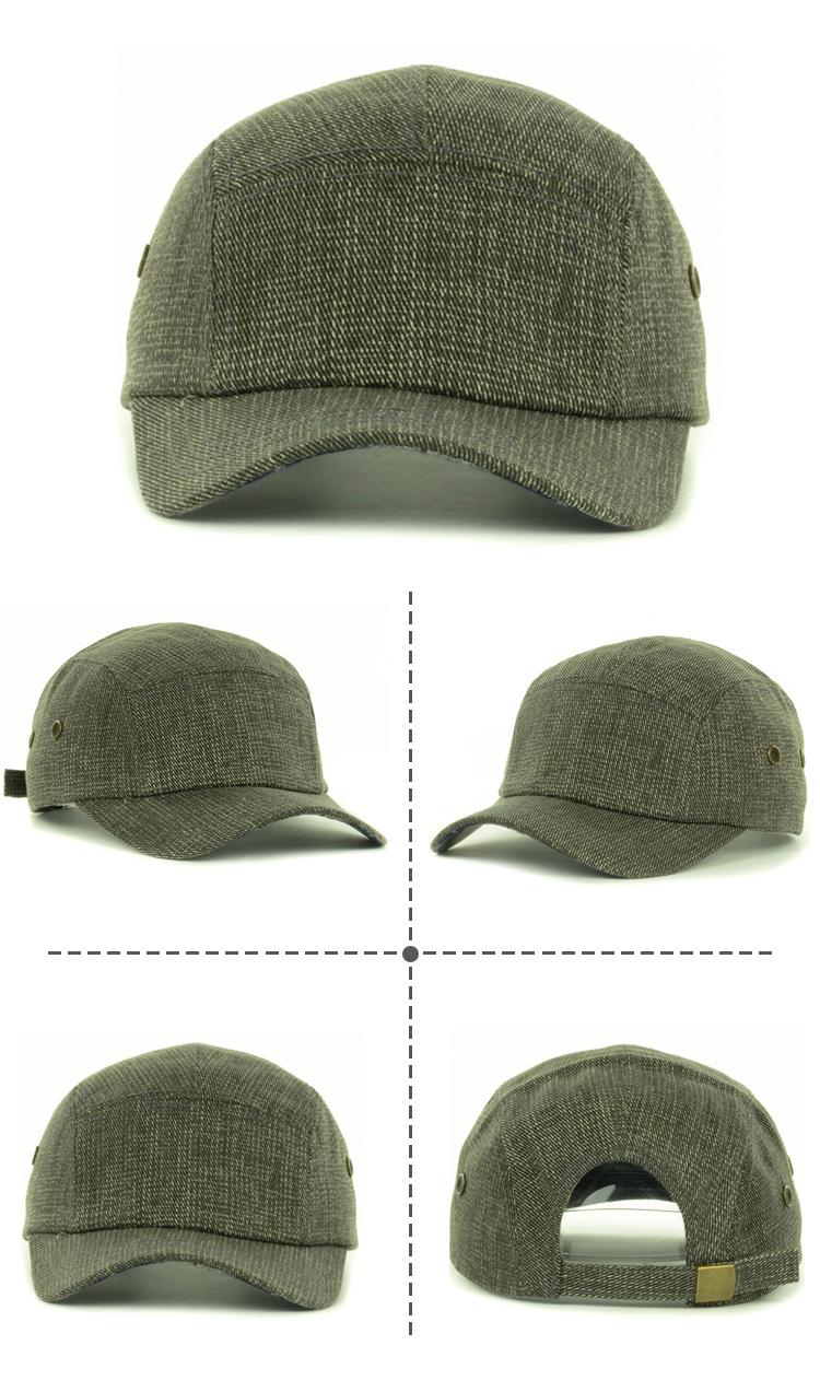 e438e65a0aa Design Your Own Cap Blank Custom Strap Back 5 Panel Hats Wholesale ...
