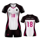 cheap sublimated volleyball jerseys design dry fit volleyball jerseys sublimated volleyball uniform for women