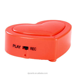 Wholesale recording device toy doll sound box heartbeat recording device