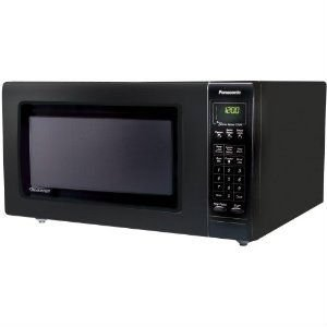 Panasonic Full Size 1 6 Cubic Feet Microwave Oven Black