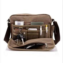 china High Quality Men Canvas Casual Travel Men's Bag Luxury Men Messenger Bags