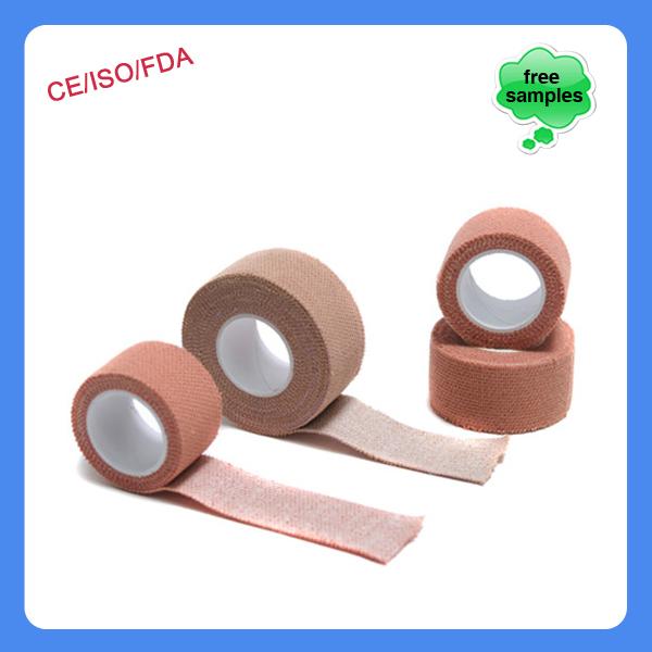 China Supplier Cotton Fabric Zinc Oxide Elastic Adhesive Bandage ...