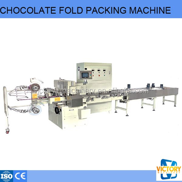 New Condition Automatic Chocolate Fold Packing Machine