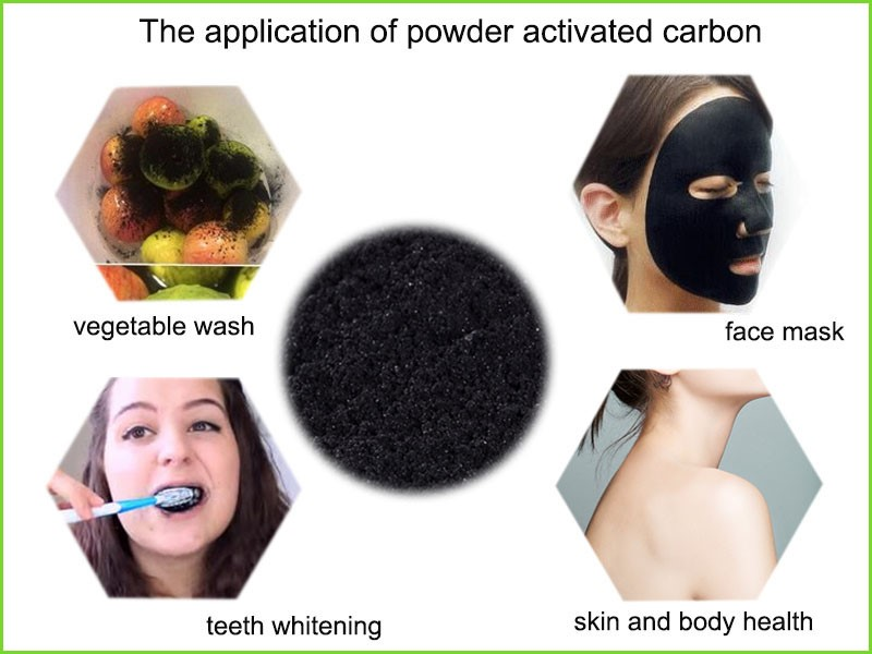 Healthy No Additive Activated Charcoal Teeth Whitening