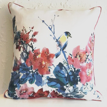 New 2018 wholesale satin fabric home decorative square cushion cover