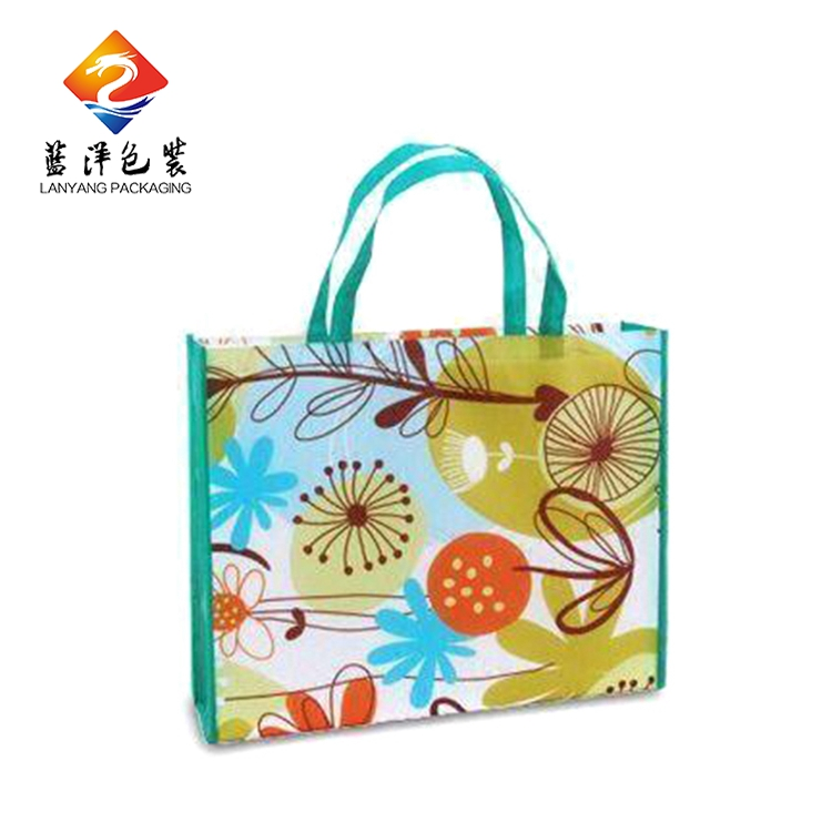New style profession manufacturer pp custom printed non woven shopping bagg