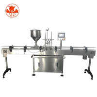 Automatic Bottle Sunflower Vegetable Palm Coconut Olive Edible Essential Cooking Oil Filling Machine