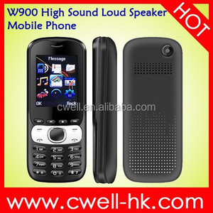 Cute W900 high sound volume mobile phones with Dual SIM Card, E-Torch and Good Price