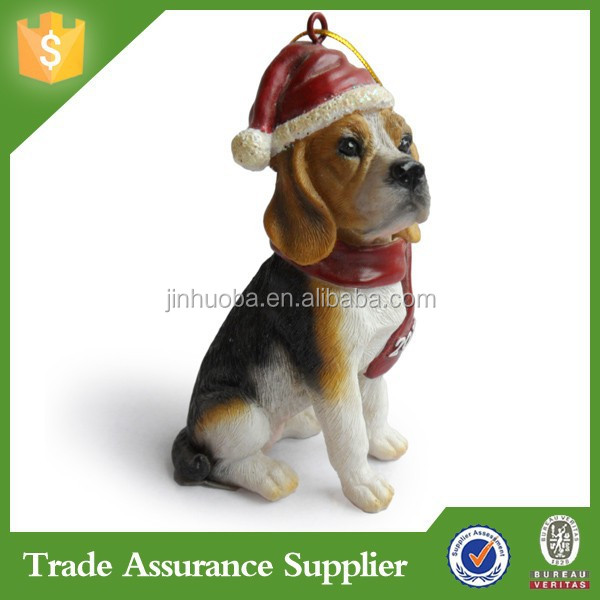 Custom Cheap Beagle Dog Resin Dog Statues