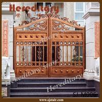 Foshan Manufacturer low price cast aluminum garden gates