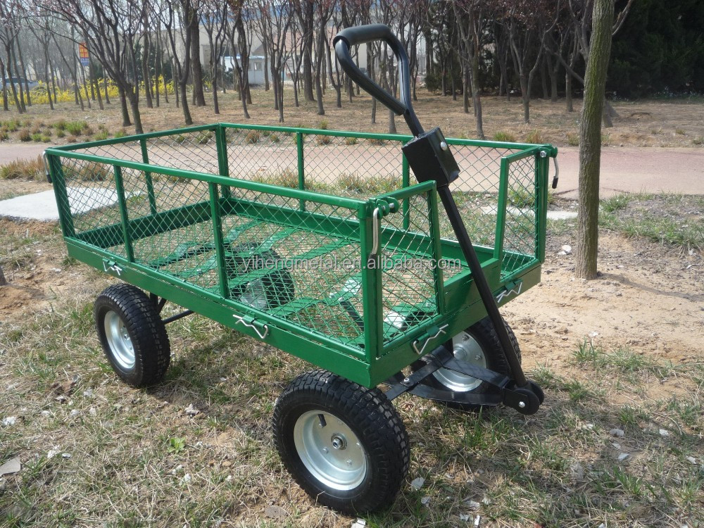 Power steel garden cart TC4205B