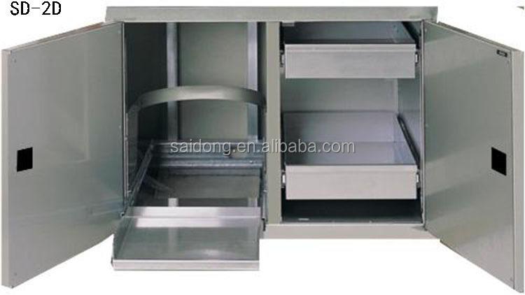 Outdoor Küche Edelstahl Türen : Maßgeschneiderte handels küche edelstahl küchenschrank grill insel