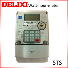 Keypad Prepayment single phase electric meter price