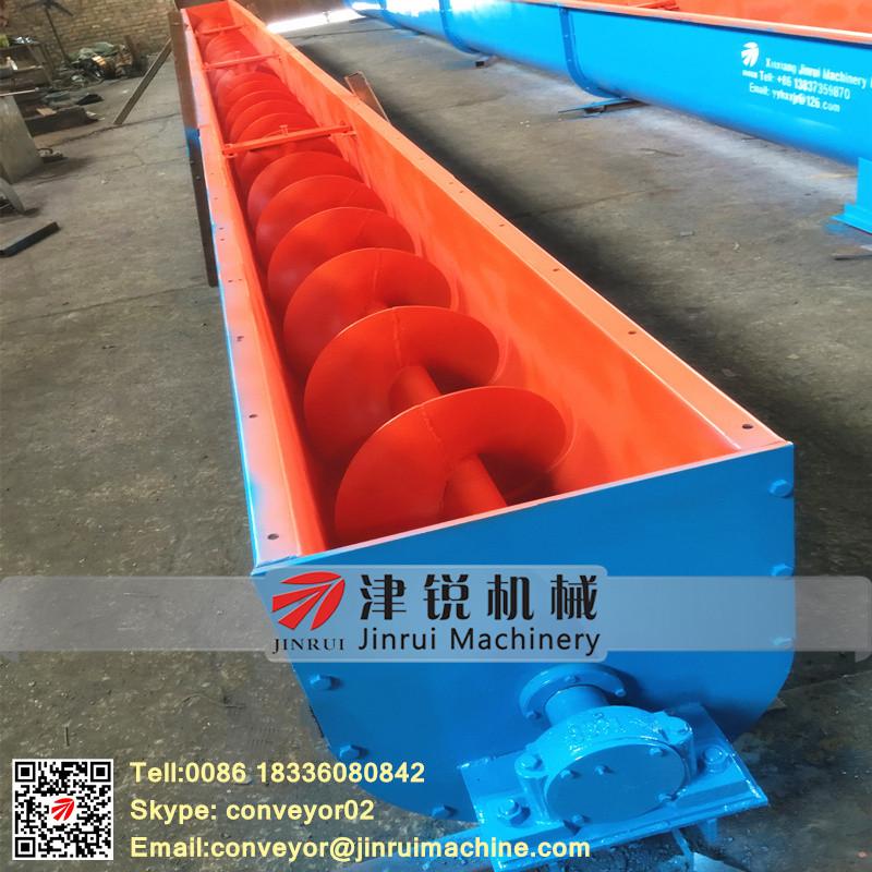 Handling Bulk Material Screw Auger Feeder Wood Chip Conveyor Systems