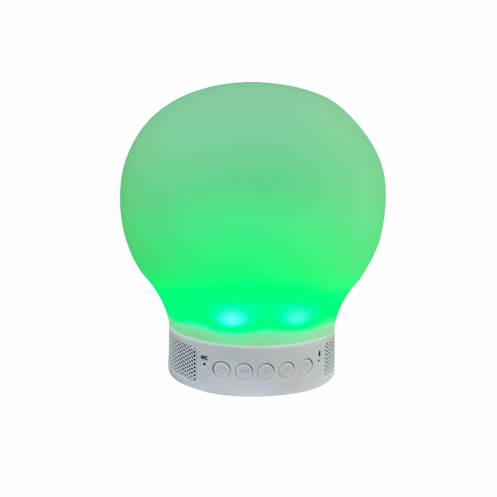 China High Quality Mini Hifi Portable Ball Shape Music Wireless Bluetooth Touch Lamp Speaker