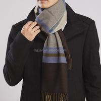 Fashion long print twill grid arab men scarf acrylic men scarf