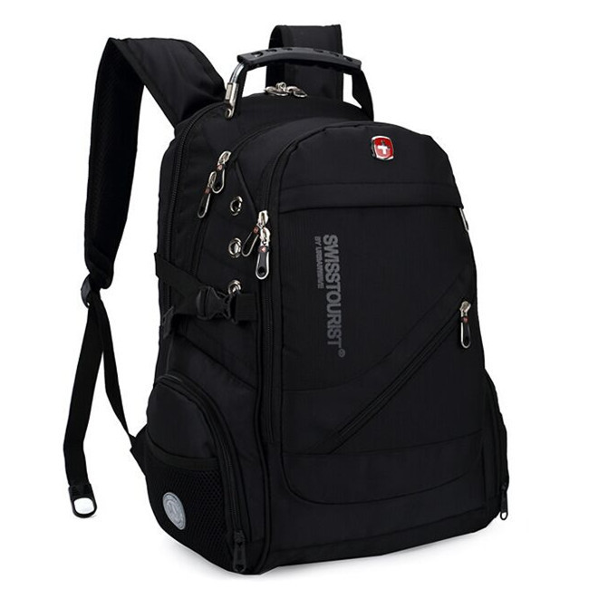 Swiss Army Knife 15 inch Laptop Backpack Fashion Brand Design Men's Travel Bag Man Backpack Nylon Computer Bags BMJ17