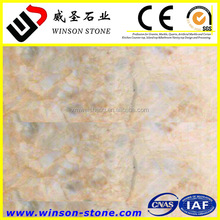 wholesale grapefruit golden polished marble tile & slab for step nosing