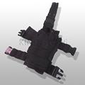 Adjustable Left Right Handed Tactical Nylon Gun Holster Molle Modular Pistol Holster Duty Pistol Pouch Holster