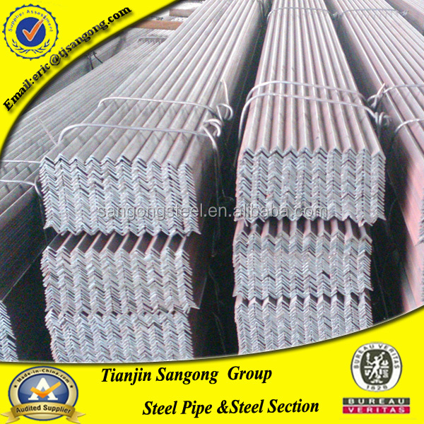 S275jr hot rolled steel angle bar iron specification