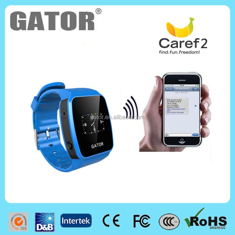 Alarm/Safezone Setting/Voices chat function gps tracker jewelry kids cell phone watch