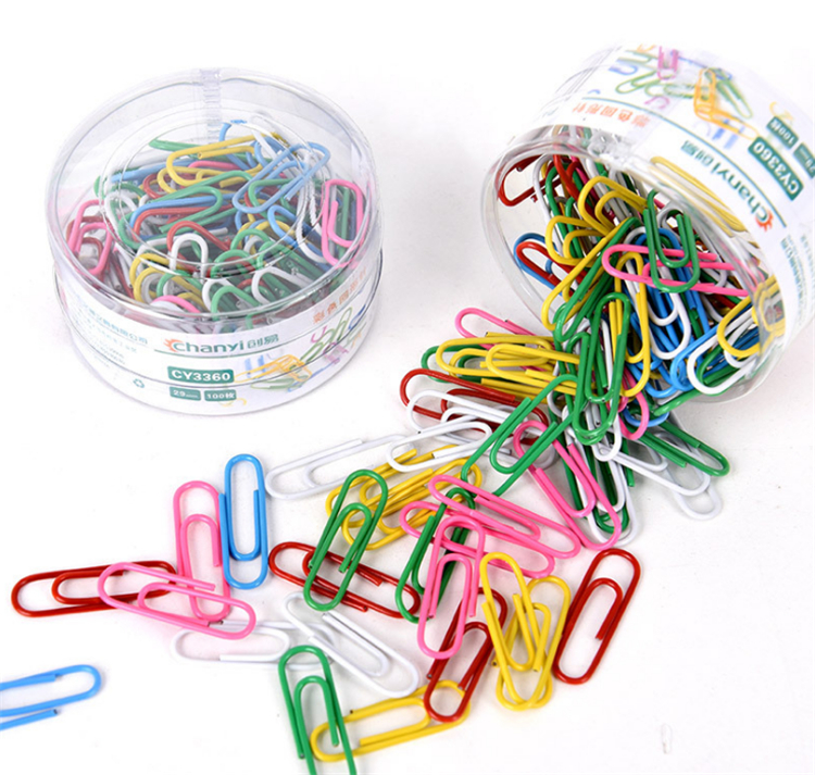 factory wholesale 29mm colored paper clip