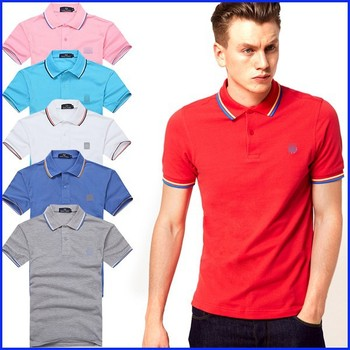 d8b5dafb 2015 polo t shirt factory mens formal polo shirt red color cheap dry fit  polo shirt