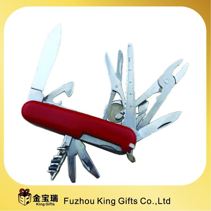 17 in 1 multi function pocket knife high quality stainless steel army utility knife