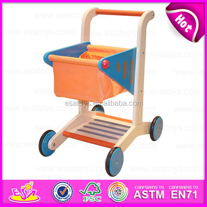 New Shopping Cart Children Kid Toywooden Children Shopping Cart Toyshopping Cart Toys Play Setpretend Toys W16e016 A1 Buy Shopping Cart