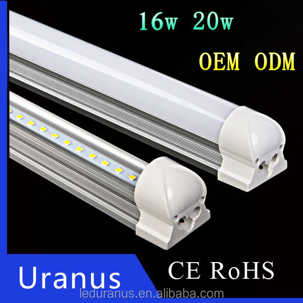 110v 220v B22 OEM ODM Alumimun and PC rechargeable led lighting tubes