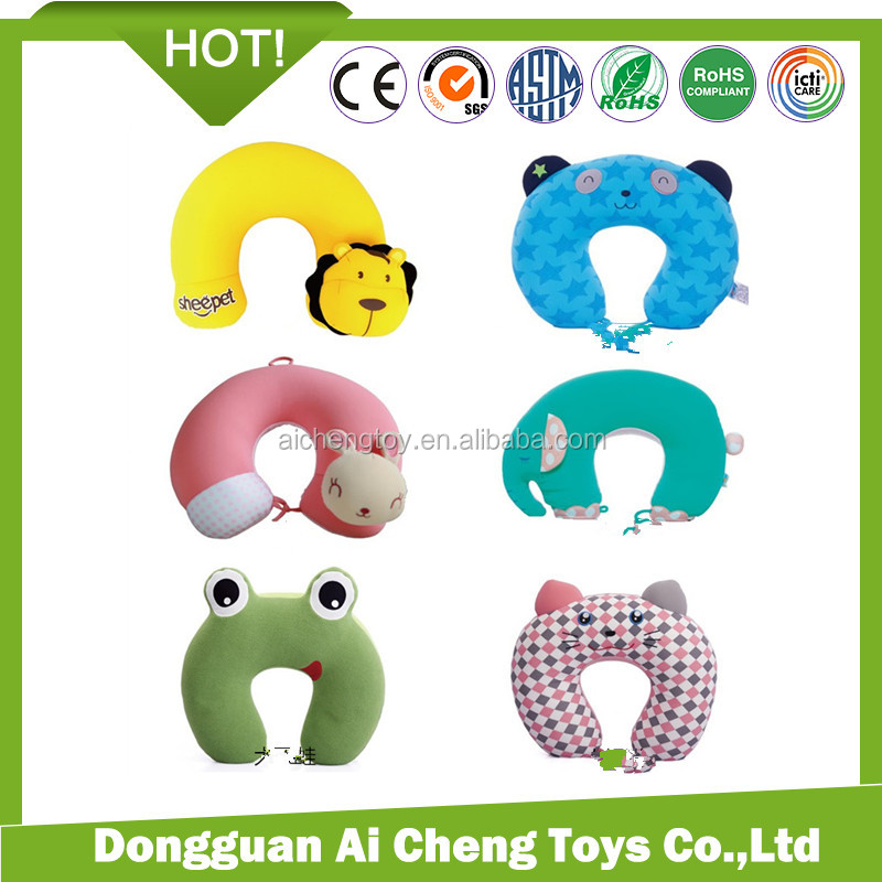 lovely spandex neck pillow <strong>animal</strong> design very cute design