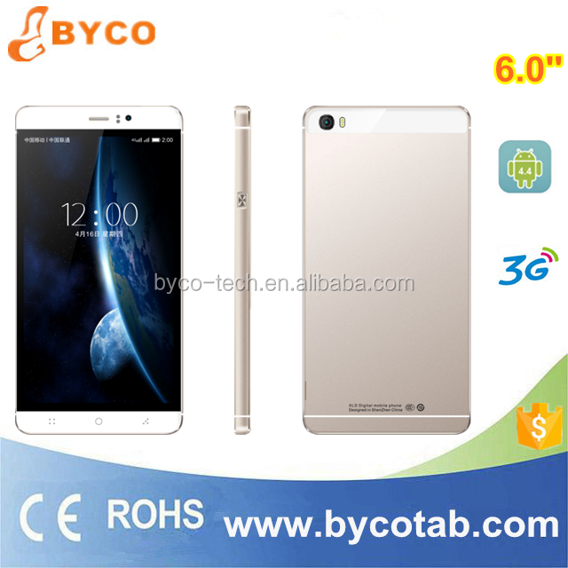 1e60d6eb1 low price china mobile phone 6 inch big touch screen android 4.4 smartphone