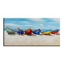 hot selling landscape modern abstract impressionist sea sight 3d art oil painting suppliers