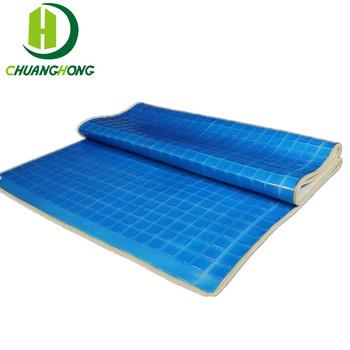 Cooling Silicone Gel Memory Foam Mattress Topper Buy Mattress