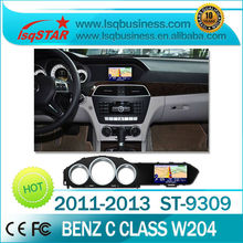 LSQ Star Car DVD with GPS for 2010-2013 Mercedes-Benz C class W204, C180, C200, C230, C300 central multimidia gps navigation