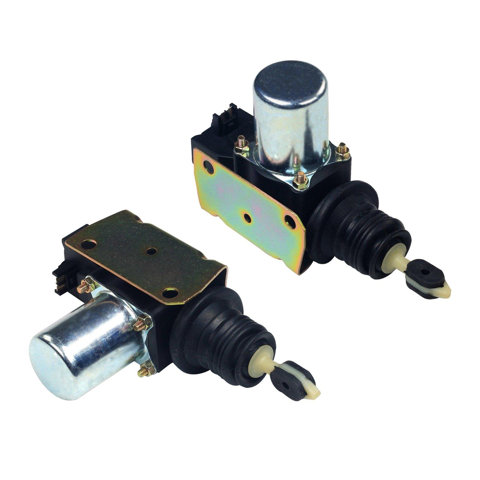 yjracing 2PCS Power Door Lock Actuator Pair Set Fit For Chevy GMC Pickup Truck Cadillac Pontiac 22020256 746-014