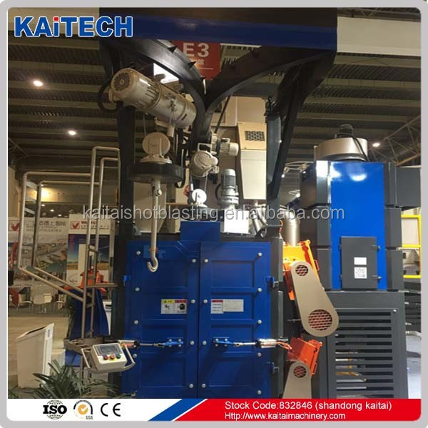 Q37 series hook type automatic shot blasting machinery/cleaning equipment replace trolley type top quality