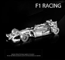 Formula car f101 1 50 3D puzzles nano metal model Wholesale price Stainless steel DIY Creative
