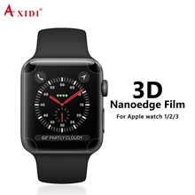 Nanoedge TPU Full Size Coverage Screen Protector For Apple Watch 1/2/3 Guard