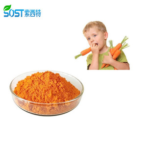 Healthcare Product Food Grade Carrot Extract Beta Carotene Powder