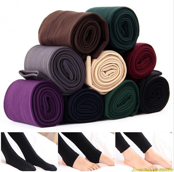 2016 New Fashion Casual Warm Faux Velvet Winter leggins Women Leggings Knitted Thick Slim fitness Super