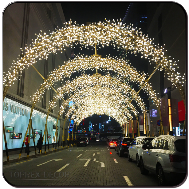 Aluminium Led Street Light Christmas Light Led Arch Decoration - Buy ...