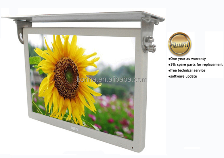 "17"" Roof Mount LCD Bus LCD Advertising Monitor with USB/HDMI/VGA input"
