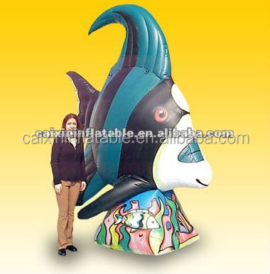customized/ advertising inflatable goldfish/ inflatable goldfish model/ inflatable goldfish mascot for advertising/ event