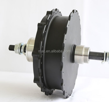 MAC 48V 1000W brushless geared hub motor for electric bicycle